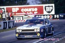 Fitzpatrick & Glemser & Heyer Ford Capri RS Le Mans 1973 fotografía