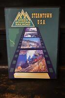 Green Mountain Railroad Rutland Bellows Falls Steamtown USA Vermont Edaville DVD