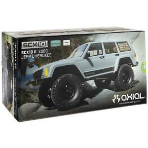 Axial Racing 1/10 SCX10 II Jeep Cherokee 4x4 RTR Ready To Run RC Truck AX90047