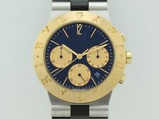 Bulgari Diagono Chronograph 18 K Gold-Steel CH35 SG