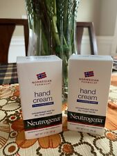 X 2 Neutropenia Hand Cream Norwegian Formula Fragrance Free Chapped Skin 2 Oz