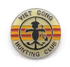 Wholesale Lot Of 12 Vietnam Viet Cong Hunting Club Lapel Hat Pin Pins PPM815