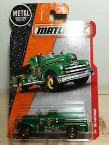MATCHBOX SEAGRAVE FIRE TRUCK 1/64 3 inches