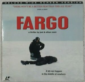 Fargo - Laserdisc, Frances McDormand Joel & Ethan Coen Deluxe Widescreen Edition