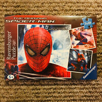 New And Sealed The Amazing Spider-Man 3 X 49 Piece Marvel Ravensburger Puzzle