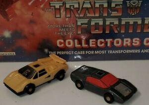Vintage Transformers 1985 Hasbro Takara G1 Cars