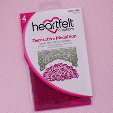 Heartfelt Creations Cut & Emboss Dies ~ Decorative Medallion, HCD1-7144 ~ NIP
