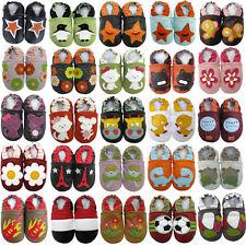 carozoo FR CA1 Chaussures en cuir pour bébé jusqu'à 6years semelle souple