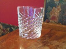 CUT CRYSTAL DOUBLE OLD FASIONED HIGHBALL GLASS BAR WHISKEY CRISTAL DE PARIS