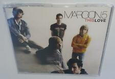 MAROON 5 THIS LOVE (2004) BRAND NEW SEALED RARE OOP CD SINGLE + ACOUSTIC B-SIDES