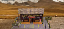 1/64 Slot Car HO Scale Bait Shop Photo Real Kit Model Diorama Scenery Sets