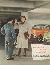 Labo Motorenöle Prospekt 1956 brochure motor oils Motorentechnik Autotechnik Oel