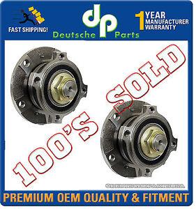 Front Wheel Bearing Bearings Hub Hubs PAIR SET 2 x 31221093427 for BMW E39 525i