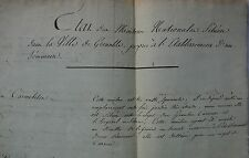 State of Houses National Grenoble Handed over to the Minister Guerre. 1804