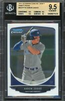 BGS 9.5 AARON JUDGE 2013 Bowman Chrome Draft Rookie RC TRUE GEM MINT QTY AVAIL