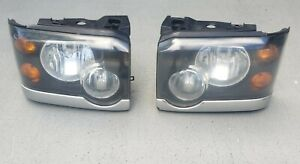 2003/04 LAND ROVER DISCOVERY 2 LH/RH SIDE HEADLIGHTS OEM