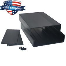 Aluminum DIY Project Box Enclosure Case PCB/Amplifier/Electronic 203*145*68mm