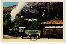 """""""All Aboard"""" Stone Mountain Scenic Railroad—Vintage Train Confederate Memorial"""