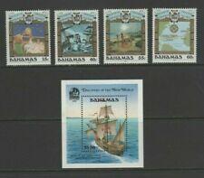 Bahamas 1991 Discovery of America by Columbus Mint MNH Set + Sheet