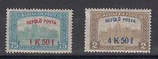 UNGARN, 1918 Flugpostmarken 210-11 **, (20275)