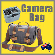 Professional DSLR Camera Bag one/two lenses one body Canon Nikon Sony OZ Stock