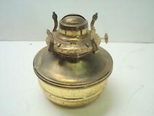 Vintage Lamplight Farms Brass Oil Lamp