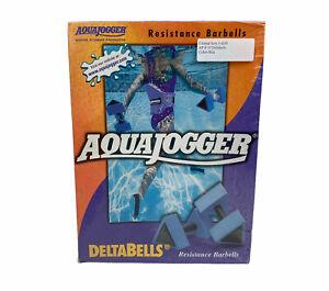 AquaJogger Delta Bells Resistance Water Barbells New Sealed Exercise