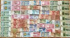 Lot Different Banknotes from AFRICA Paper Money Collections