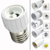 GU10 E27 E14 B22 Bulb Adapter Lamp Extender Socket Converter Shop Light Holder b