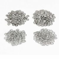 9.5mm Silver Snap Poppers Fasteners Press Studs Brass Nickel Free Leather Craft