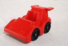 Vintage Fisher Price Little People Indy Racer Red Race Car #347  1983