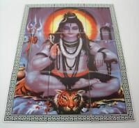 9tlg Fliesenbild Keramik Fliesen Hindu Gottheit Shiva Südostasien 75x60 cm