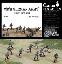 Caesar Miniatures 1/72 WWII German Army Combat Team 1 # B06