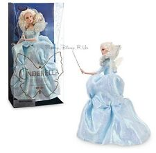 "New Disney Store Fairy Godmother Film Collection 11"" Doll Live Action Cinderella"