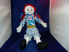 Big And Beautiful Blue Bird Flour Sack Doll~Unique And One Of A Kind~$30~L@K~