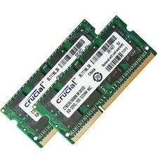 Crucial 16GB Kit 2X8GB PC3L-12800S DDR3L 1600 204-PINS SODIMM Laptop Memory CL11