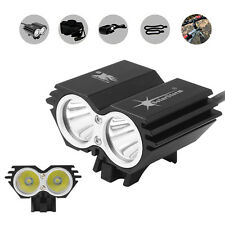 4 Modes Solar Storm 8000LM CREE XM-L T6 LED Bicycle Light with Battery + Charger