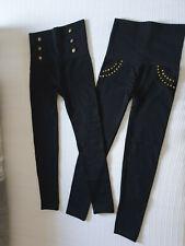 2Leggins, schwarz, Gr: L, Hollywood Pants