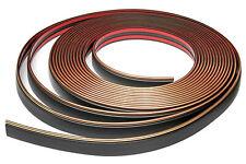 Zierleiste 32mm breit | schwarz gold | flexibel selbstklebend | Meterware