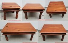 TABLE COFFEE LAMPSIDE INDIAN JALI SOLID SHEESHAM WOOD UK SELLER - FREE P&P