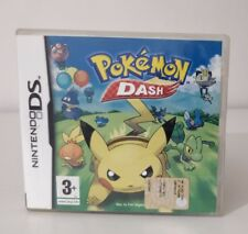 POKEMON DASH NINTENDO DS 2DS 3DS versione PAL ITALIANO OTTIMO STATO