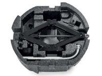 Original SKODA Einbauset Reserverad SUPERB III 3V 3V0093860