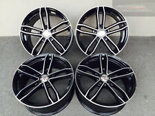 20 Zoll Axxion AX8 Felgen 9x20 et25 5x120 Schwarz BMW Performance 5er F10 F11 X1