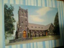 VINTAGE POST CARD TRINITY EPISCOPAL CHURCH PORTLAND OREGON