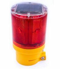 Rk Safety Wlight-St Solar Powered Emergency Led Strobe Lamp Lights Wireless Cont