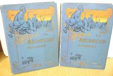 Le Mecanicien Moderne par Un Comite d'Ingenieurs specialistes Two Volume ca 1900