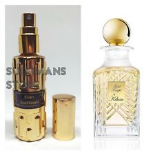 Gold Knight by Kilian in 14ml (0.47oz) gold colored spray perfume bottle! parfum
