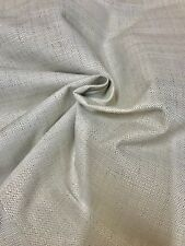 MARK & SPENCER / NEXT CREAM LINEN UPHOLSTERY FABRIC 1.6 METRES