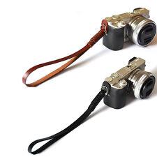 Hand Wrist Grip Strap  PU Leather Camera for SLR DSLR Canon Nikon Pentax Sony