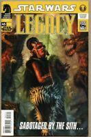 Star Wars Legacy #45-2010 vf/nm 9.0 Dark Horse 1st appearance of Darth Rauder